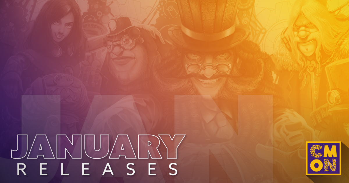 CMON Releases for January