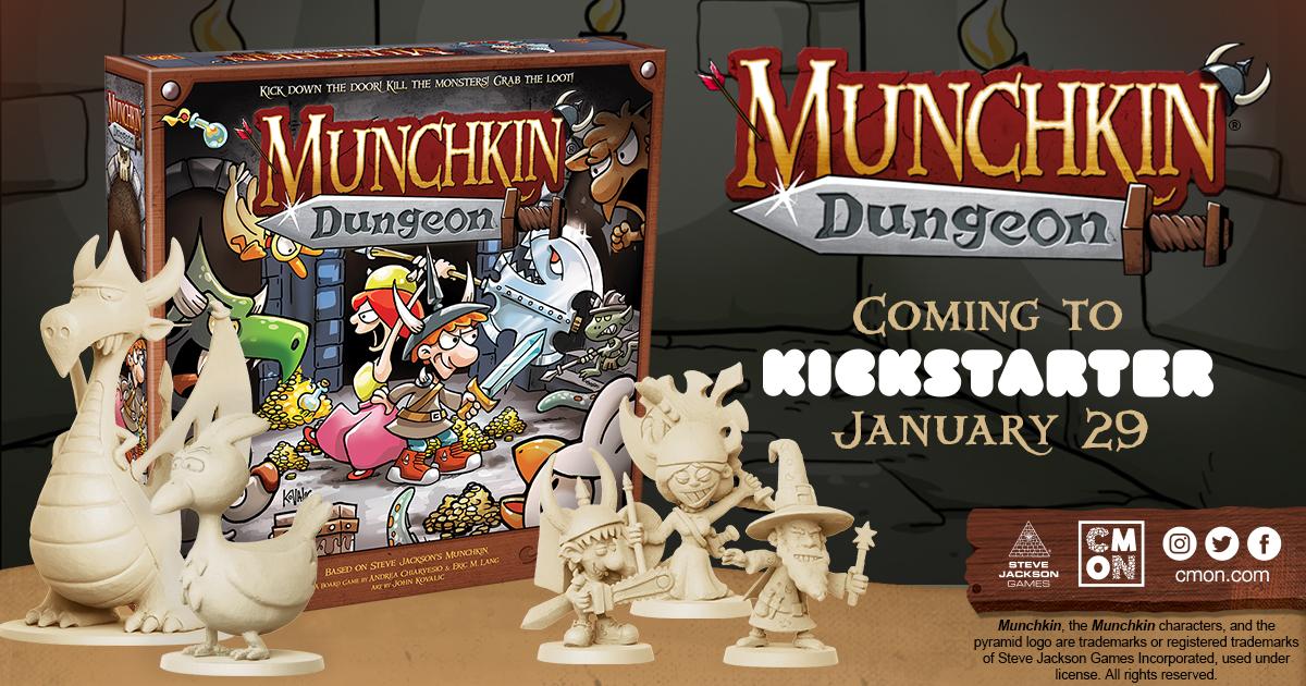 Munchkin Dungeon Overview