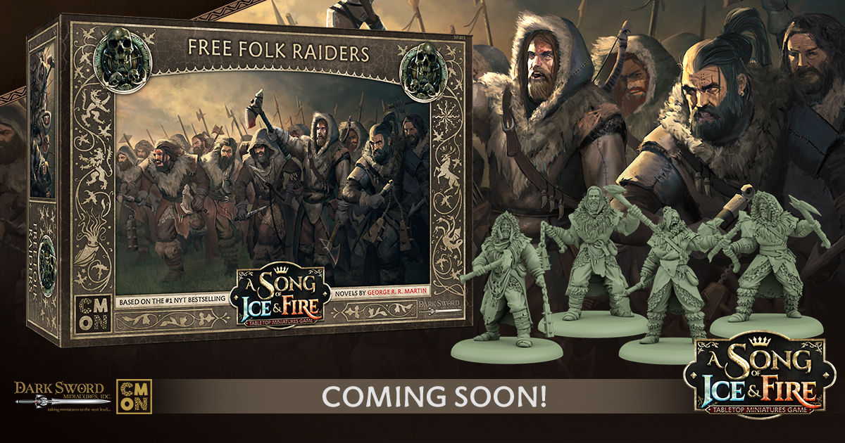 Free Folk Raiders Unit Box