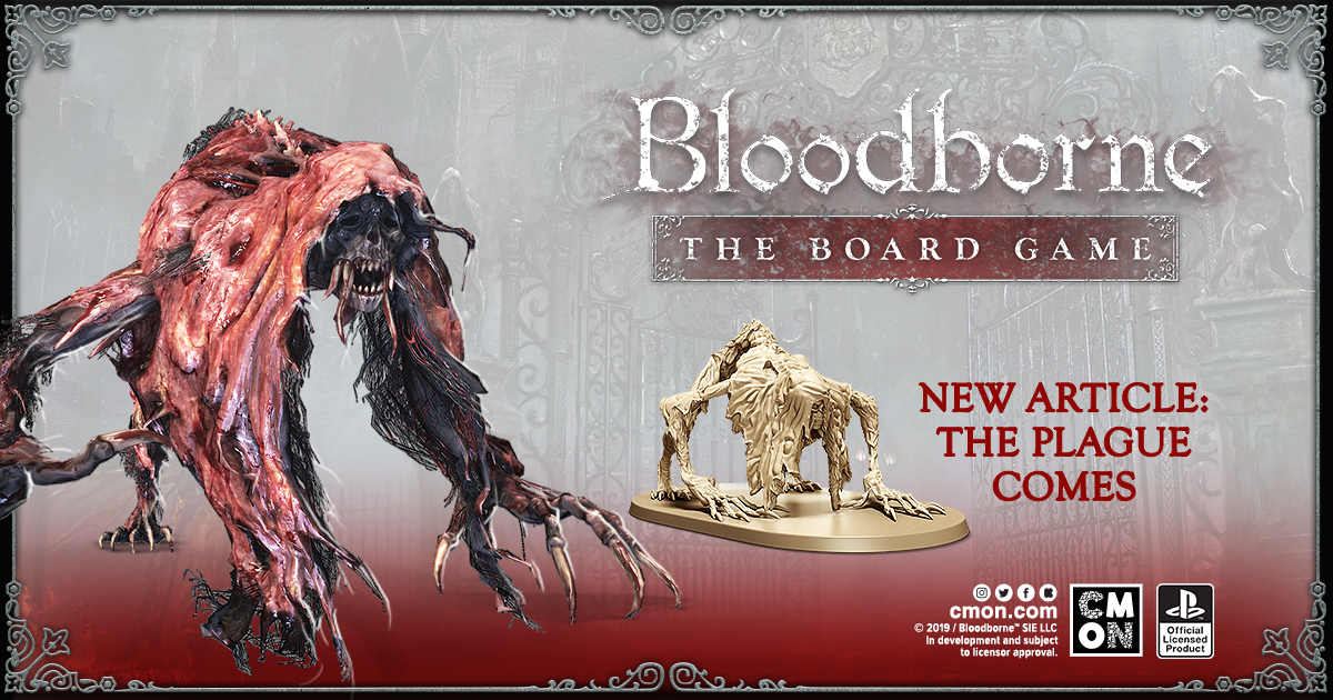 """The Plague Comes"" - Bloodborne: The Board Game"