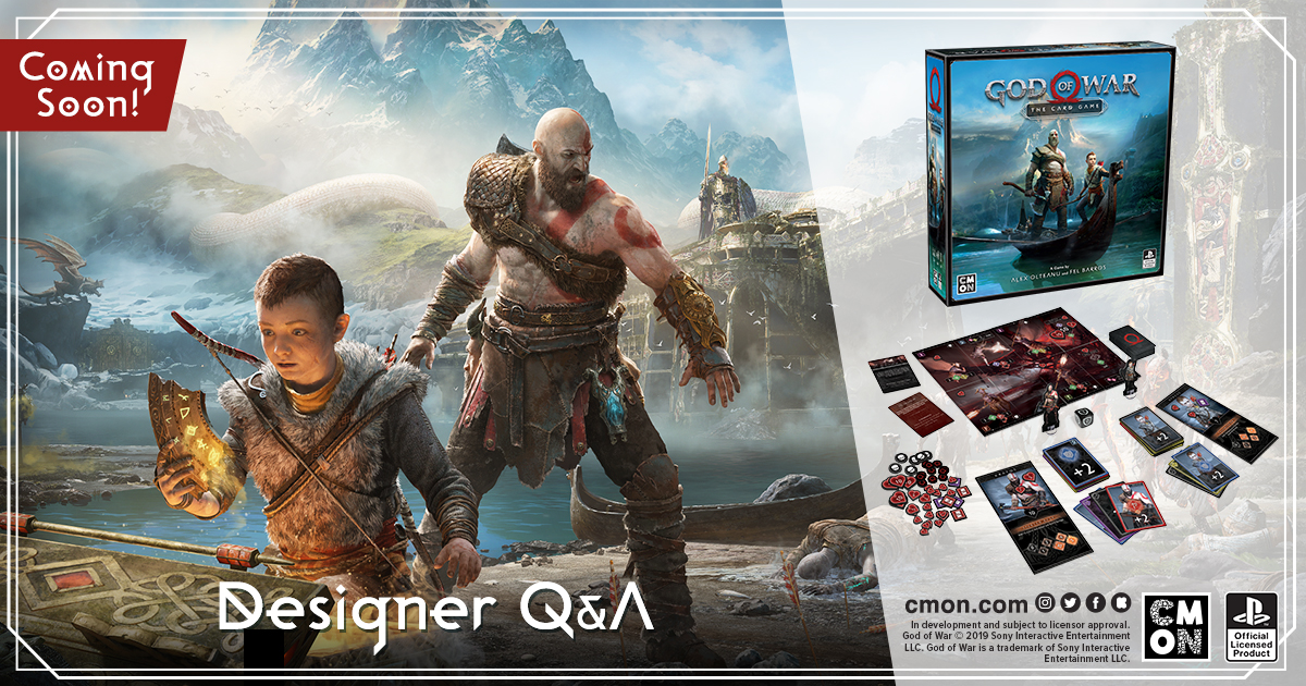 God of War: The Card Game Developer Q&A