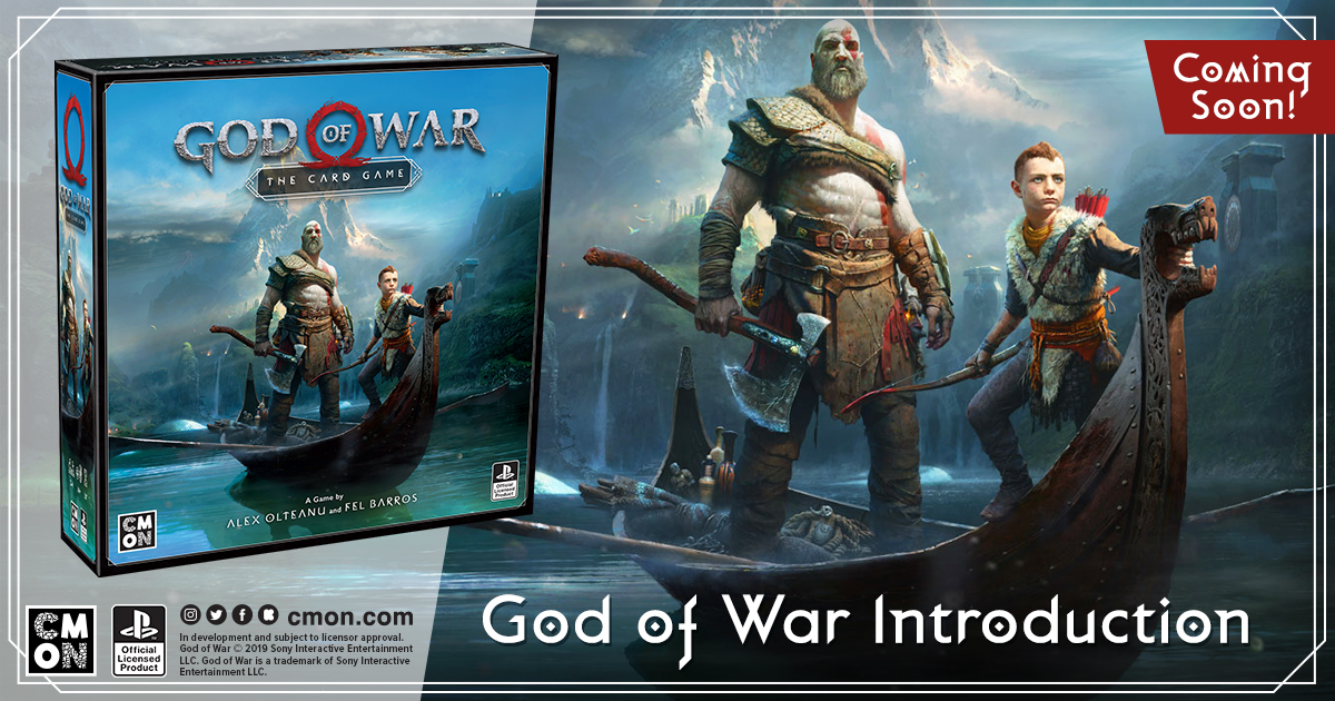 CMON Announces God of War: The Card Game