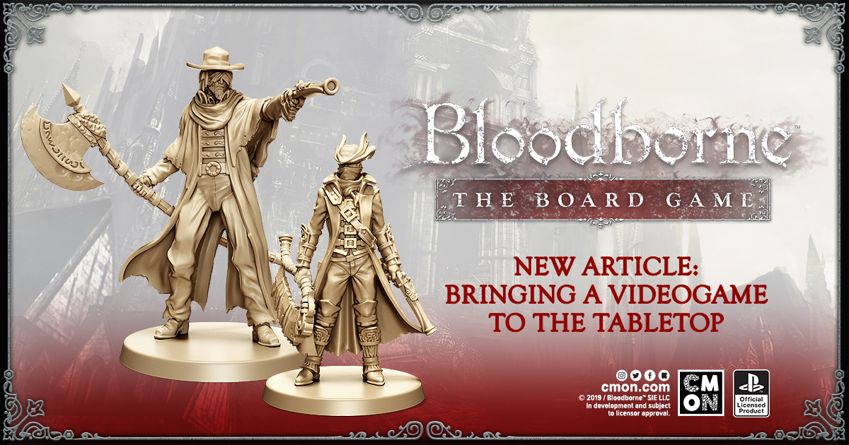 """Bringing A Videogame To The Tabletop"" - Bloodborne: The Board Game"