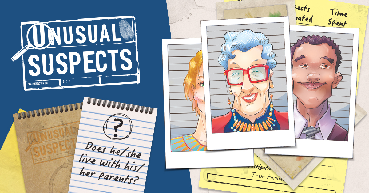 Suspect the Unexpected: Unusual Suspects Arrives November 11th!