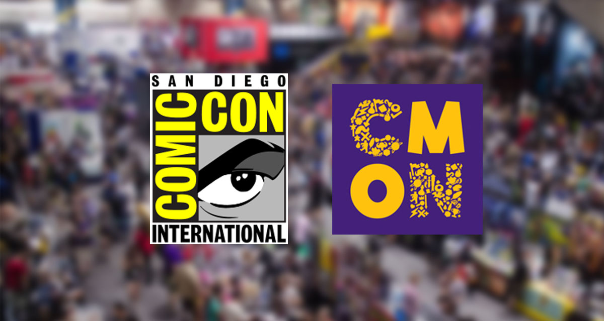 CMON at San Diego Comic Con – come and find us!