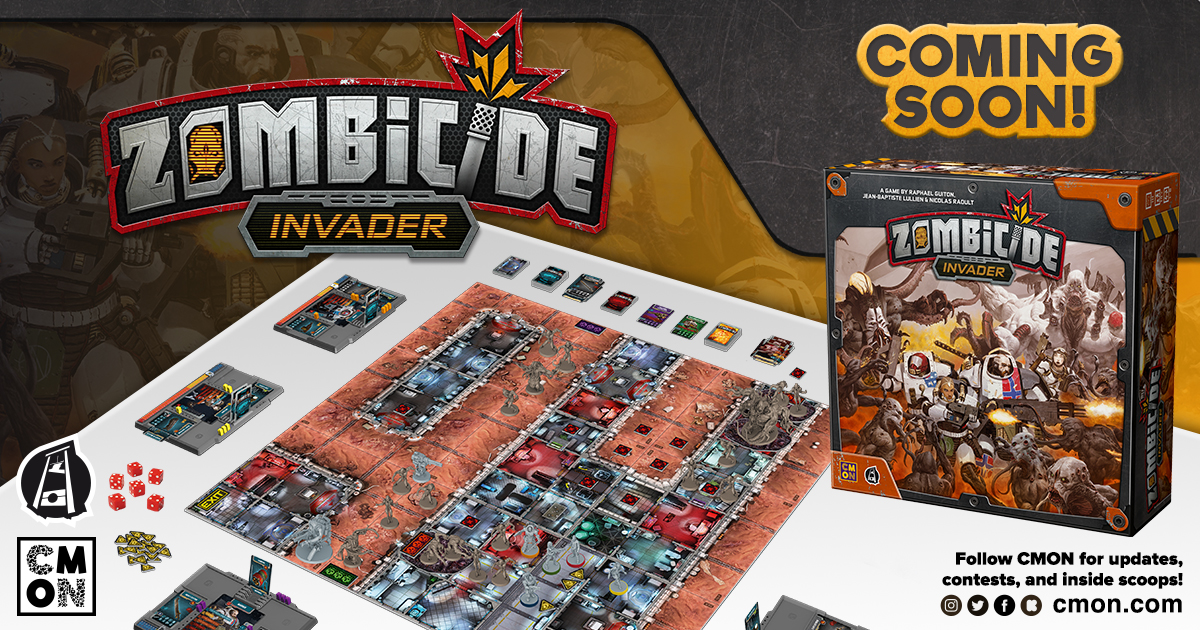 Zombicide Invader Screaming To Tabletops