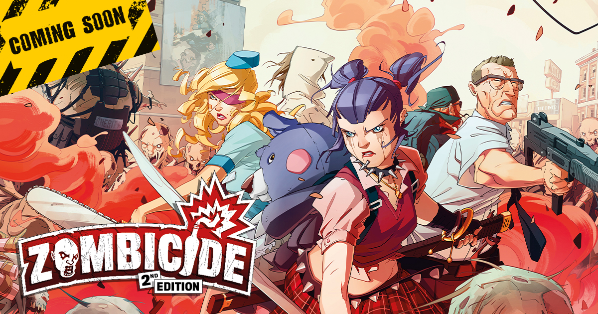 CMON and Guillotine Games Announce Zombicide 2nd Edition