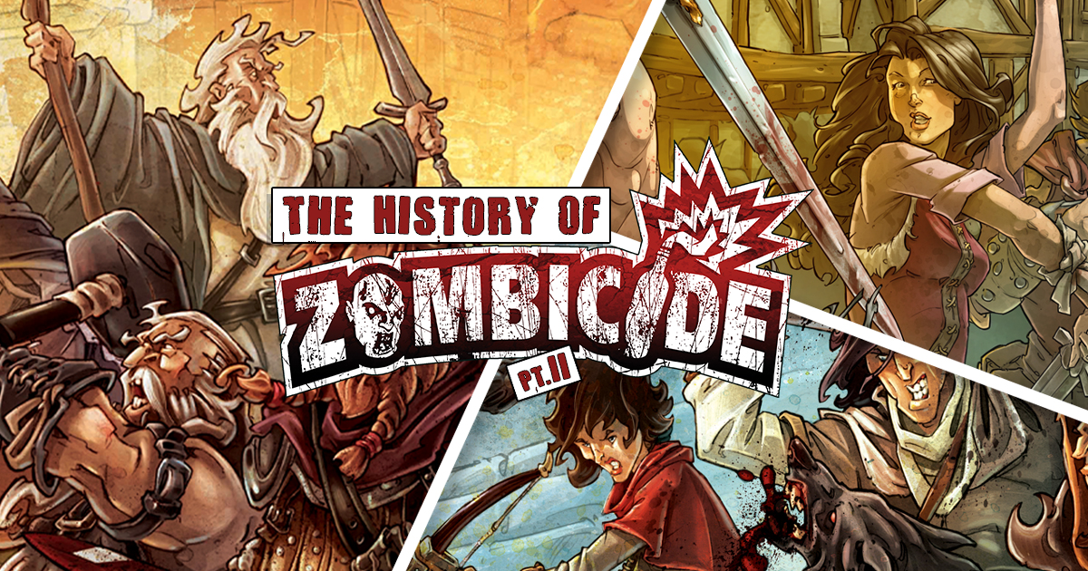 The History of Zombicide Part 2: The Plague is Spreading