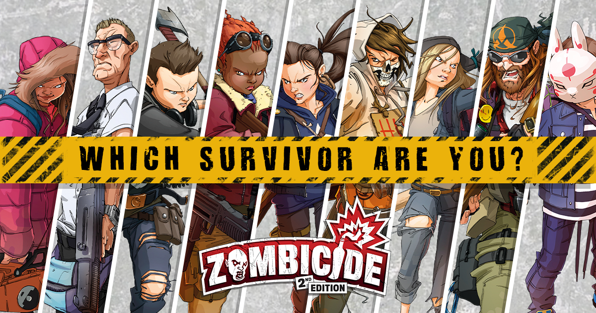 Personality Test: Which Survivor from Zombicide: 2nd Edition are you?