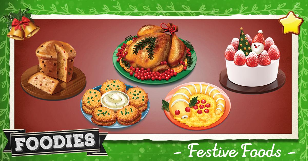 Festive Foods: Foodies Special Scenario