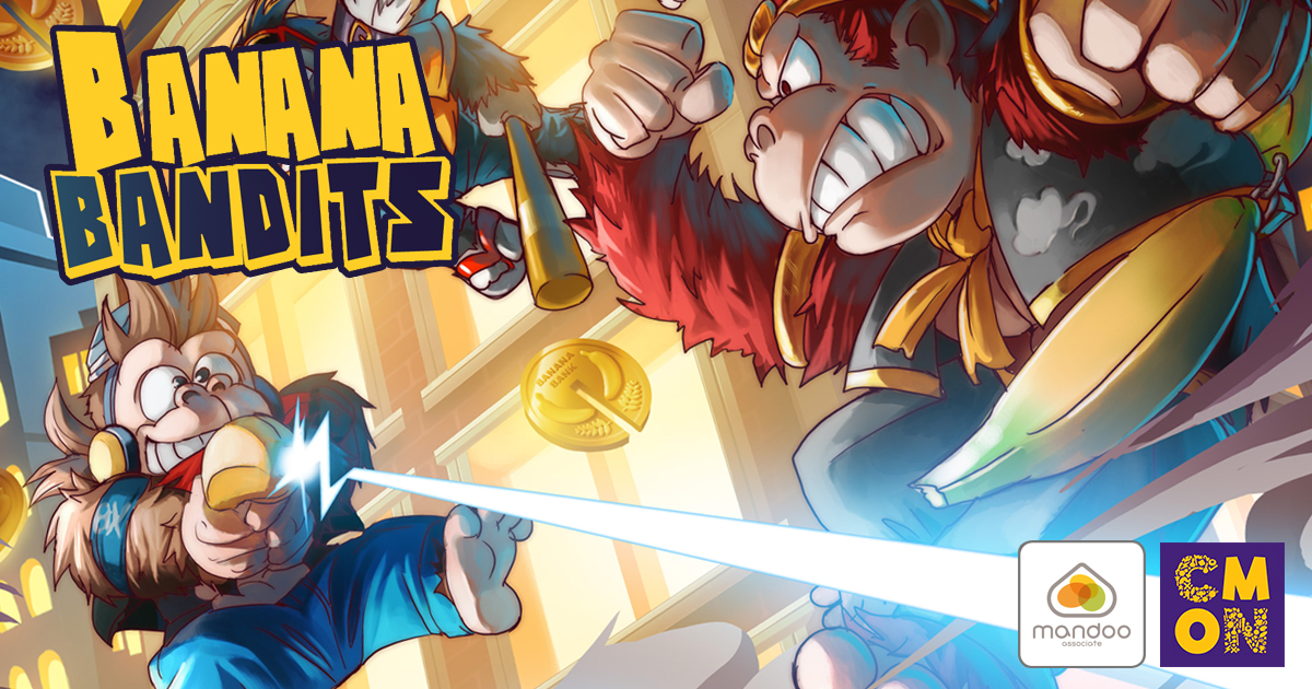 CMON Limited, Mandoo Games, & Capstone HK Ltd. Partner to Publish Banana Bandits