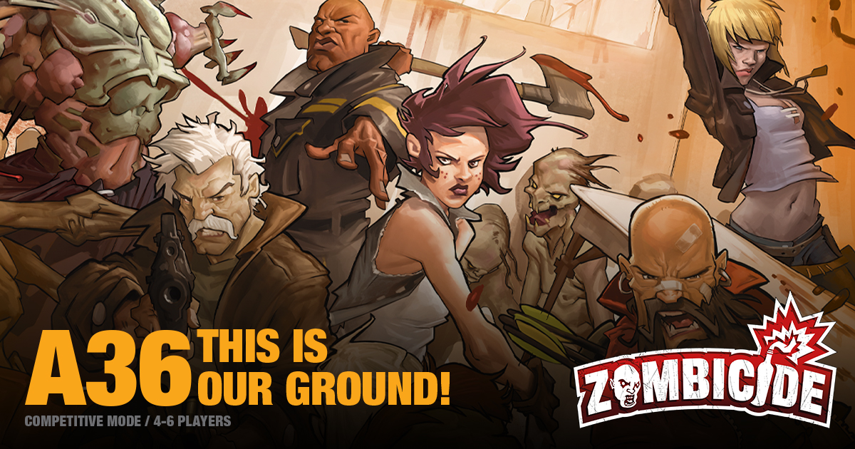 ZombiFriday #3: This is Our Ground!