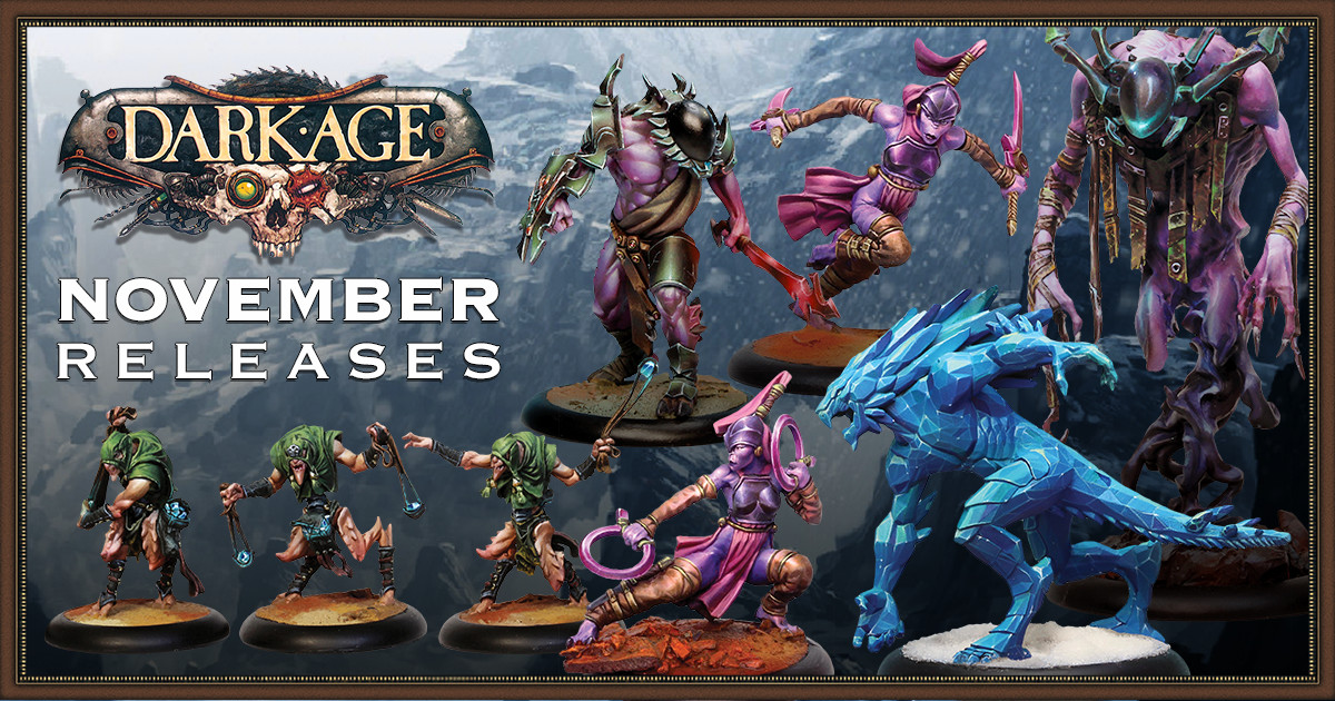 New Dark Age November Releases Available!
