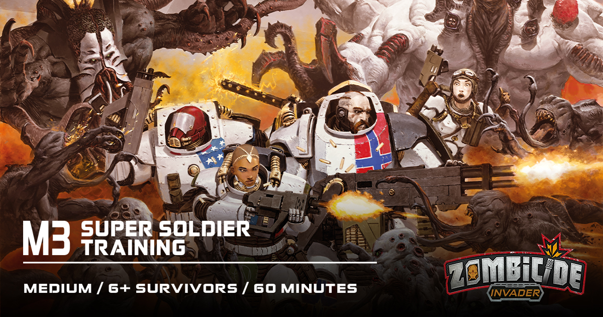 ZombiFriday #7: Super Soldier Training