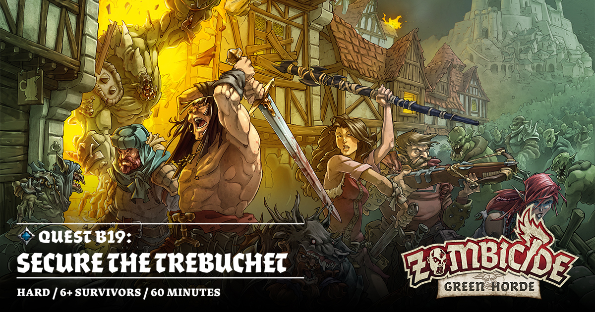 ZombiFriday #8: Secure the Trebuchet