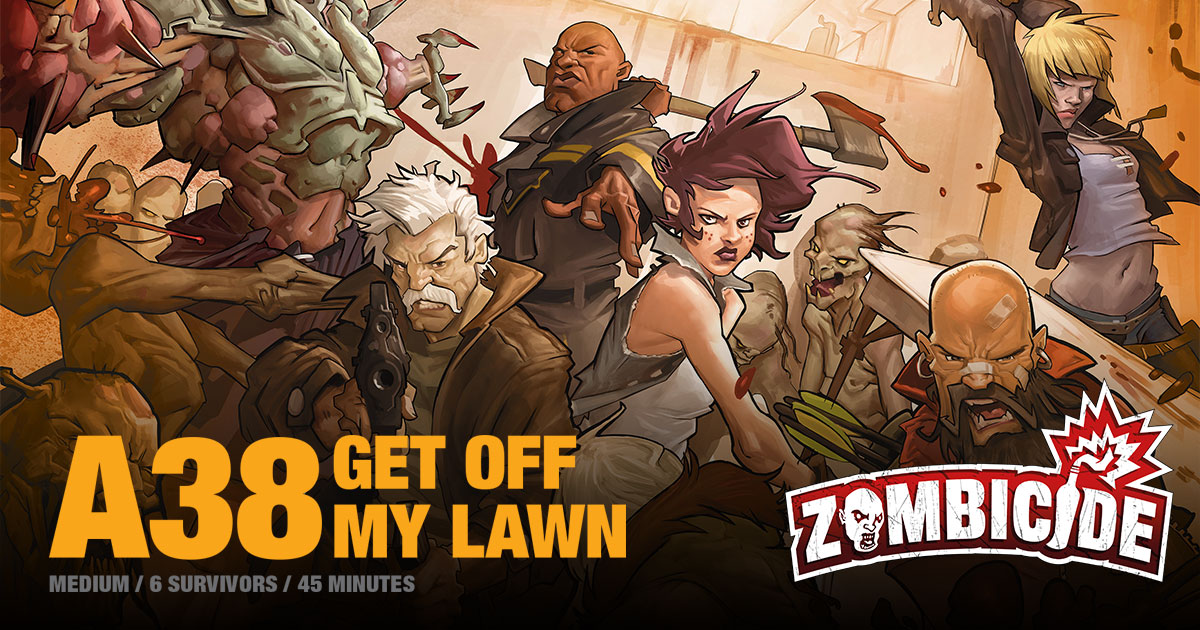 ZombiFriday #9: Get Off My Lawn!