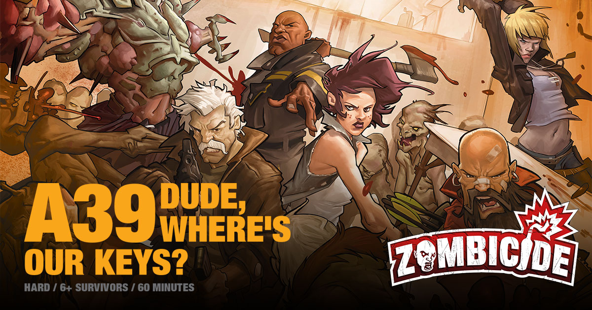 ZombiFriday #11: Dude, Where's Our Keys?