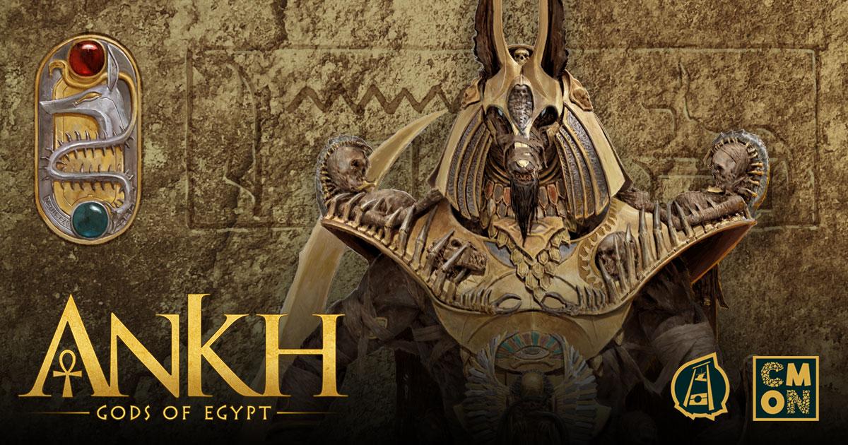 Ankh: Gods of Egypt hits Kickstarter on April 14th