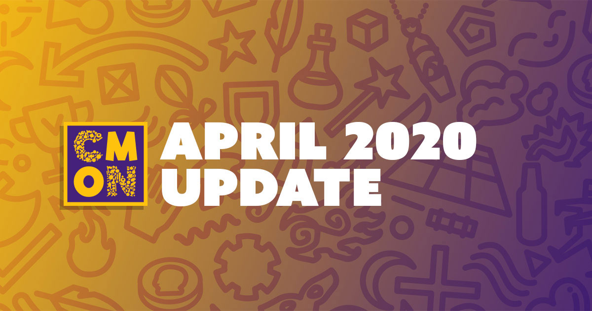 CMON April 2020 update