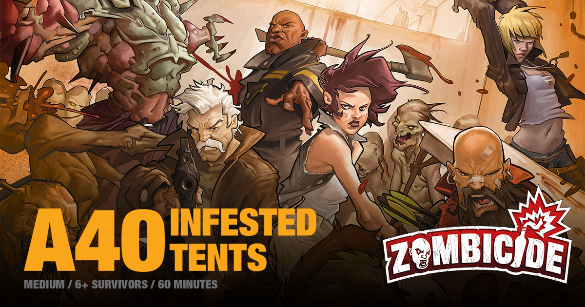 ZombiFriday #16: Infested Tents