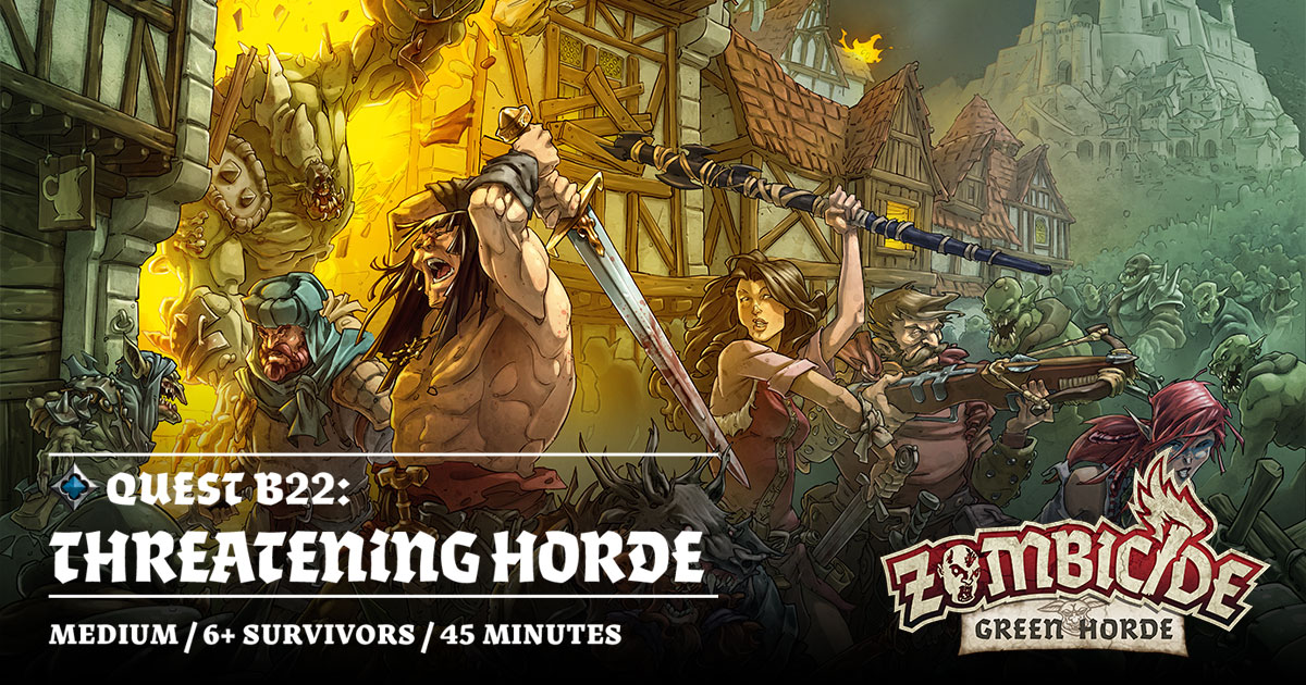 ZombiFriday #17: Threatening Horde
