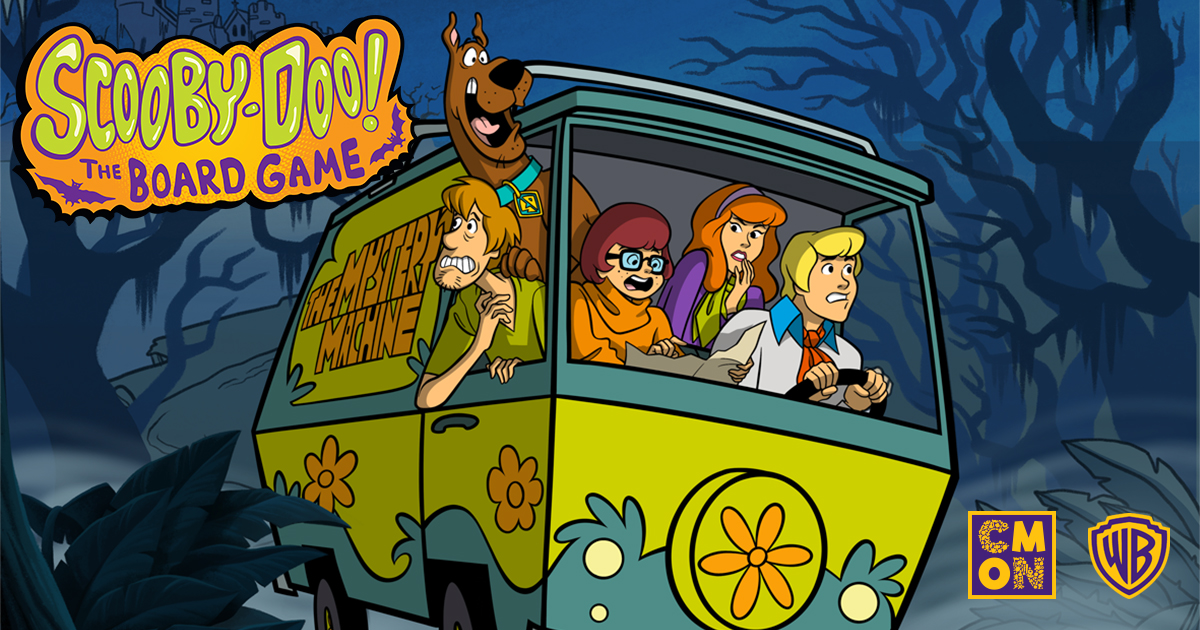 CMON partners with Warner Bros. Consumer Products on Scooby-Doo: The Board Game