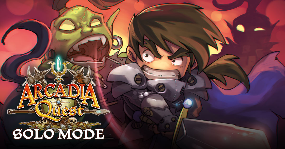 Arcadia Quest Solo Mode v. 1.1 (Updated)