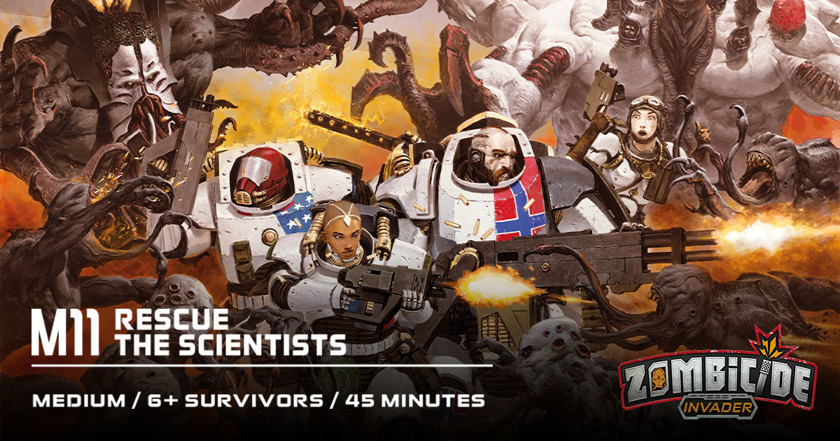 ZombiFriday #25: Rescue the Scientists