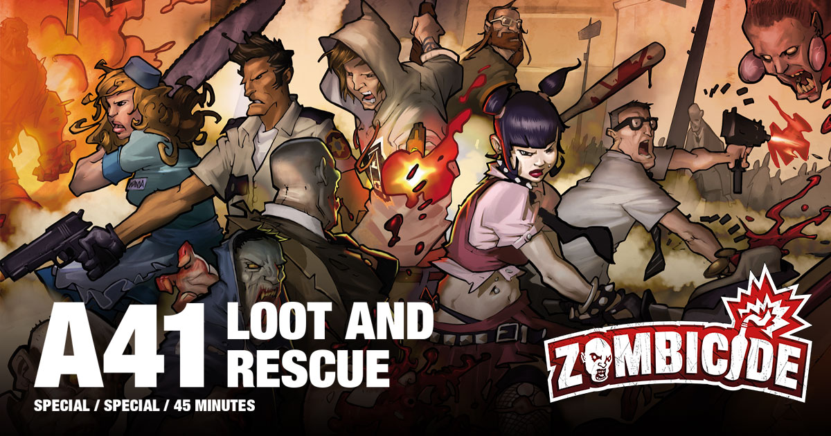 ZombiFriday #26: Loot and Rescue