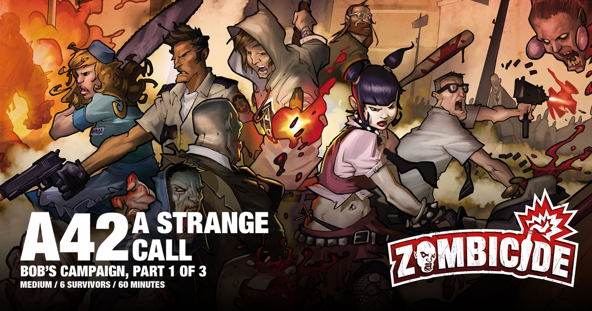 ZombiFriday #28: A Strange Call