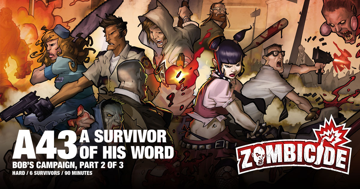 ZombiFriday #29: A Survivor of His Word