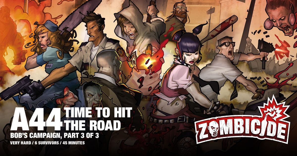 ZombiFriday #30: Time to Hit the Road
