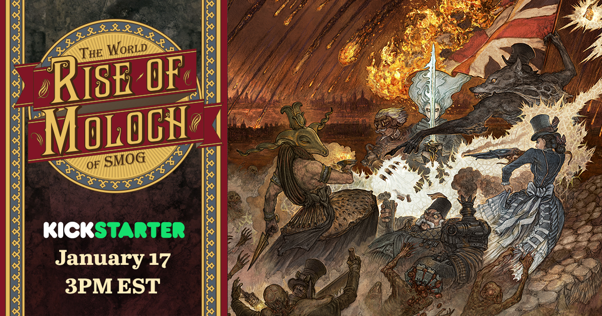 The World of SMOG: Rise of Moloch Kickstarter Date Revealed!