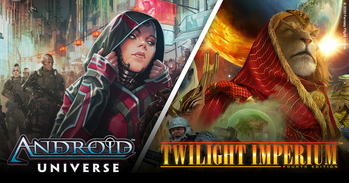 CMON to Publish Graphic Novels Based on Twilight Imperium and Android