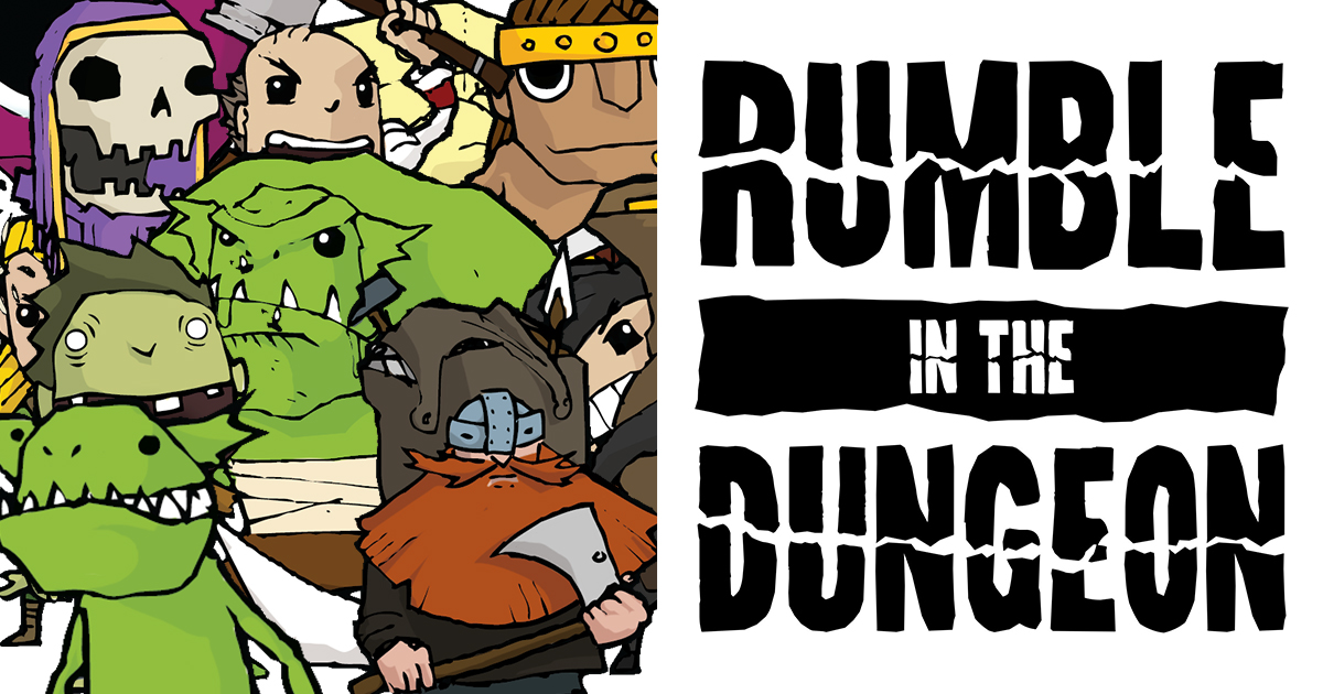 Rumble in the Dungeon on December 9!