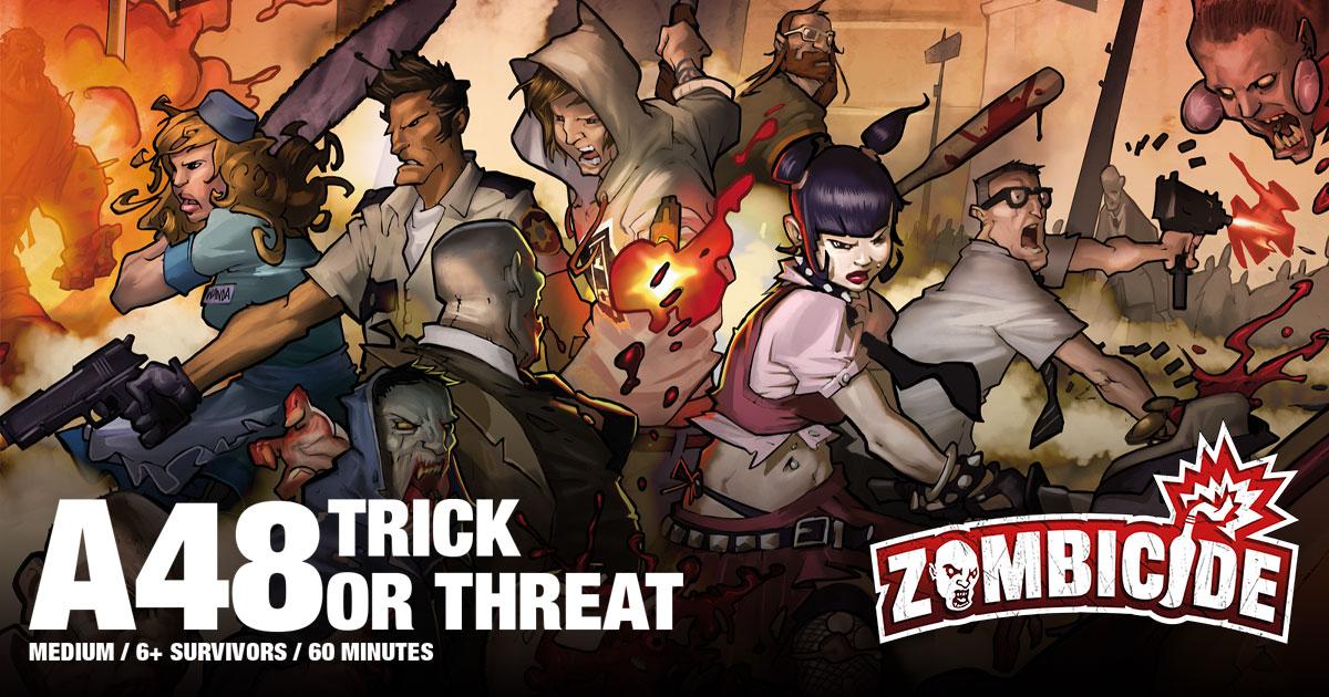 Zombicide Special Halloween Scenario: Trick or Threat