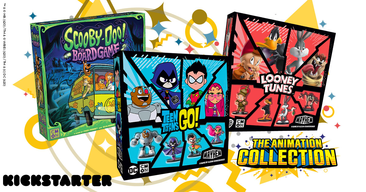 Scooby-Doo, Looney Tunes, and Teen Titans Go! set for multi-game Kickstarter