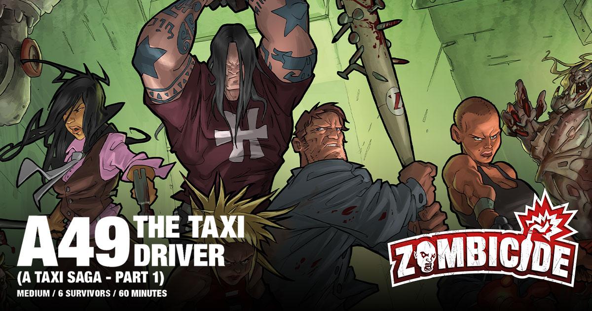 ZombiFriday #42: A Taxi Saga, Part 1