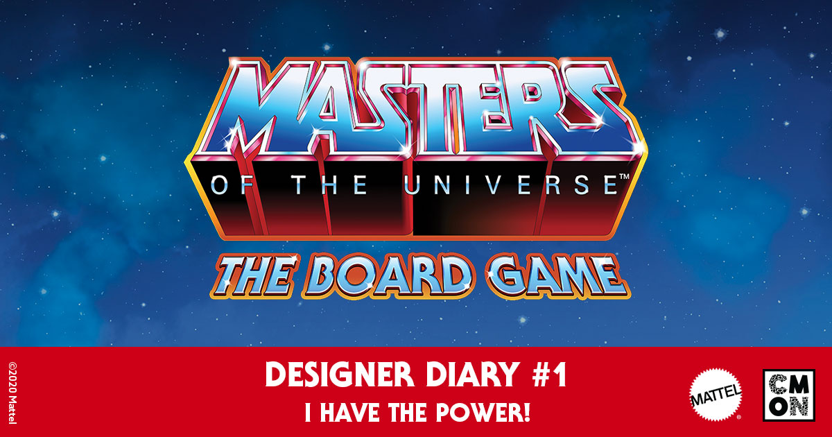Masters of the Universe: The Board Game* Designer Diary – Episode 1