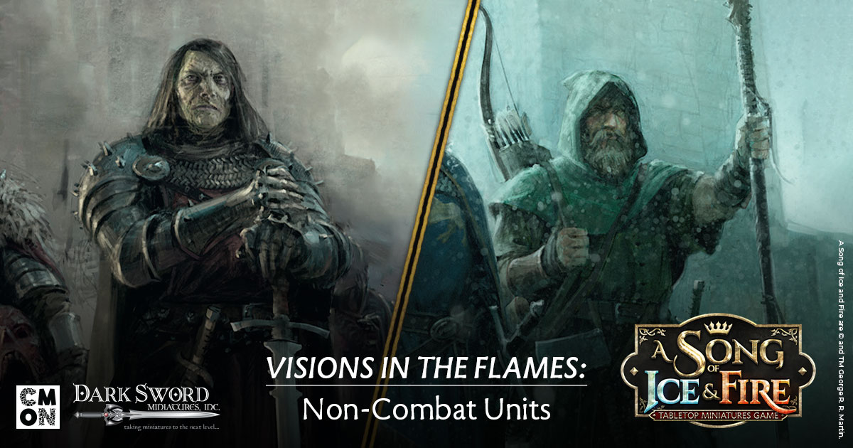 Visions in the Flames: Non-Combat Units