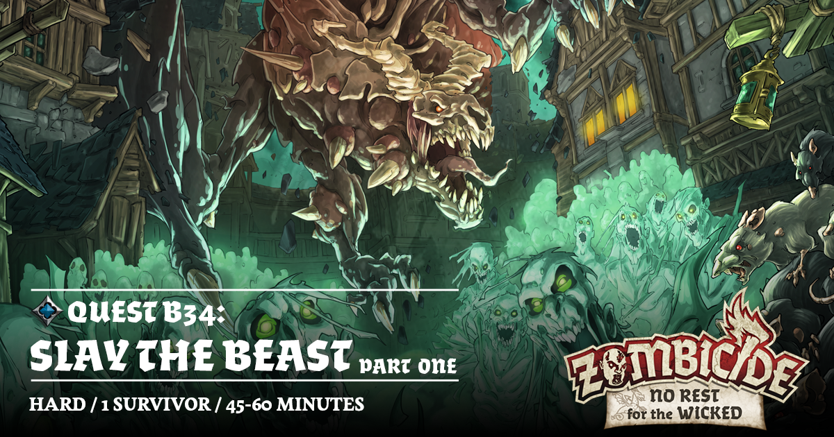 ZombiFriday #52: Slay the Beast - Part 1: Alone in the Darkness