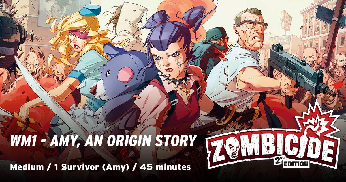 ZombiFriday #54: Amy, An Origin Story