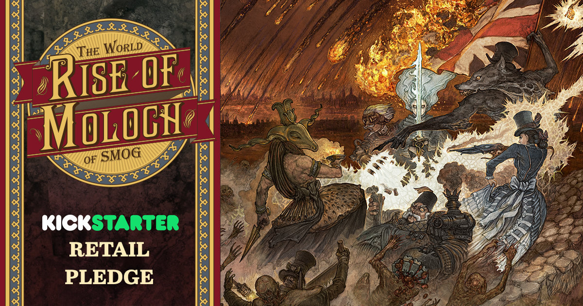 The World of SMOG: Rise of Moloch Kickstarter Retail Pledge
