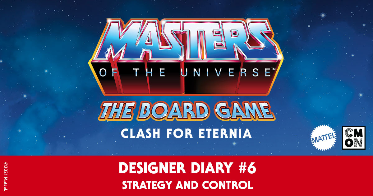 Masters of the Universe: The Board Game Designer Diary- Episode 6