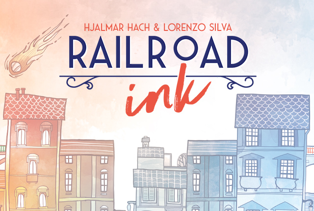 Railroad Ink comes in two editions, blue and red