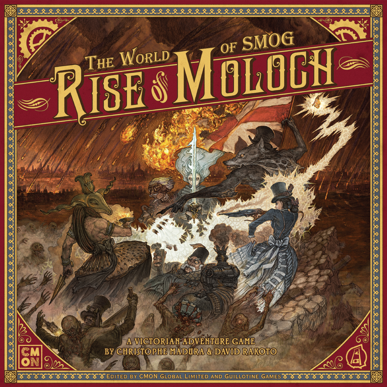 The World of SMOG: Rise of Moloch -  Cool Mini Or Not