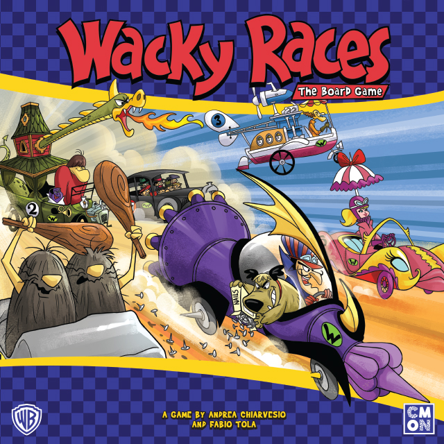 Wacky Races -  CoolMiniOrNot Inc