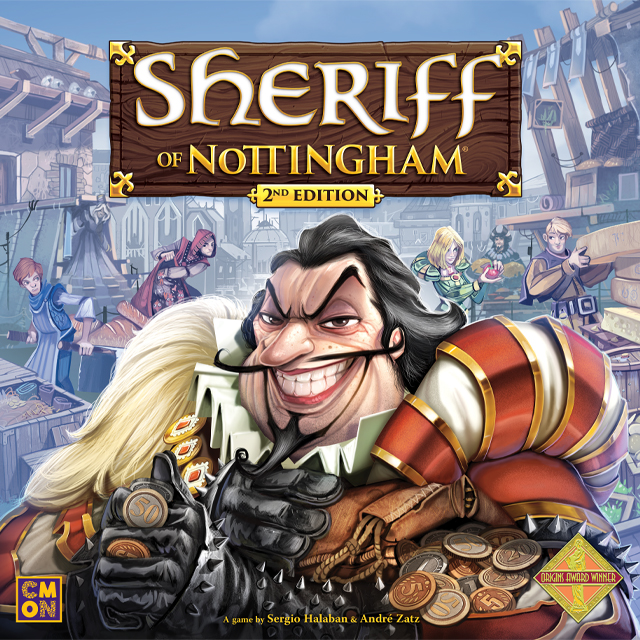 Sheriff of Nottingham 2nd Edition (T.O.S.) -  Cool Mini Or Not
