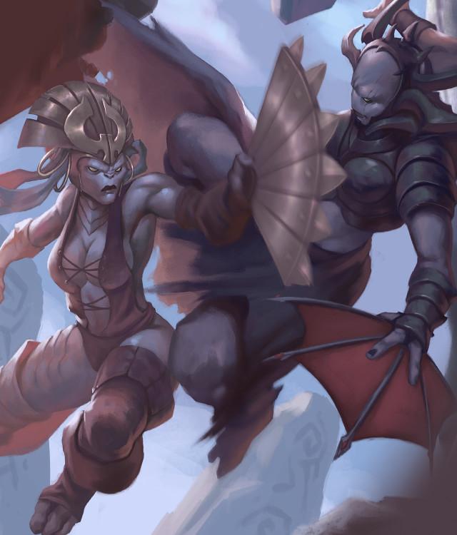 Dragyri Air Caste Warband
